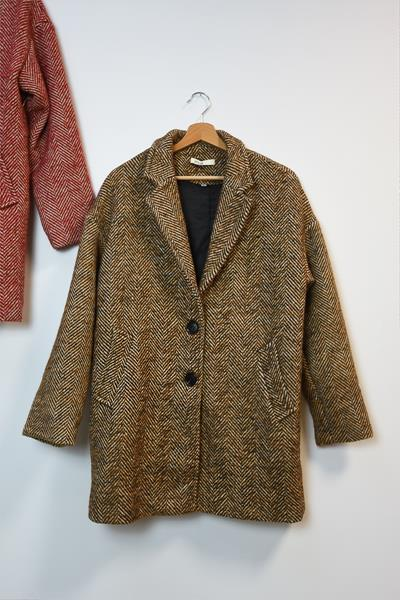Manteau PONCO marron