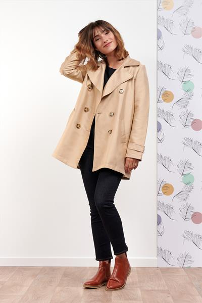 Trench TRENDY Beige